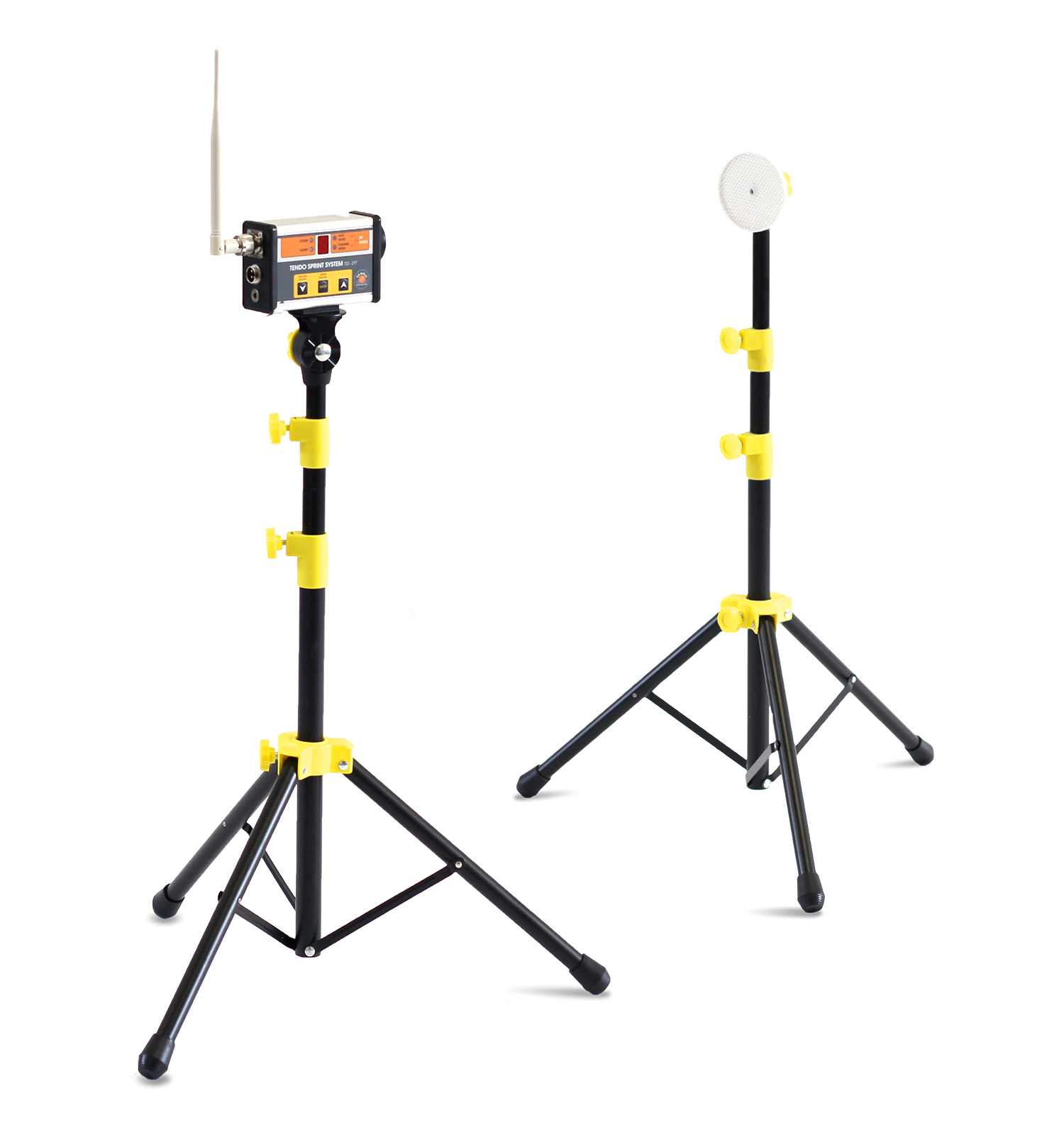Tendo Sprint System, the timing system by Tendo Sport single gate consisting of one photocell and one reflector