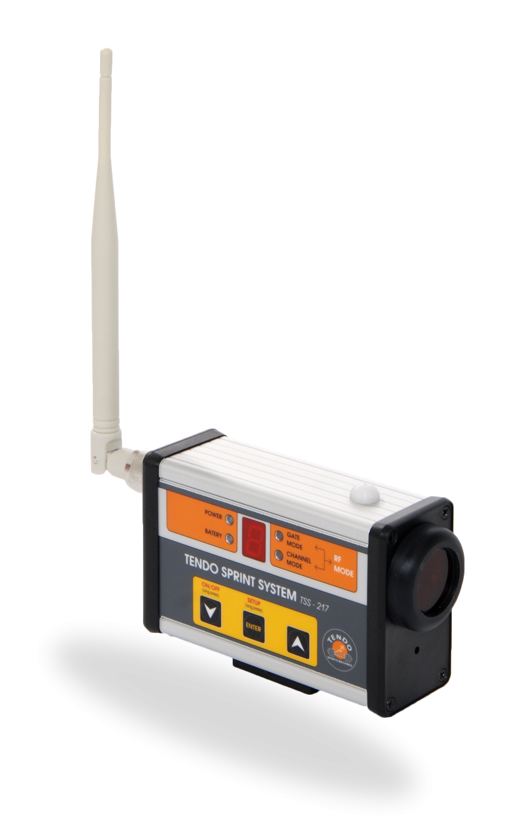 Tendo Sprint System, the timing system photocell by Tendo Sport front view