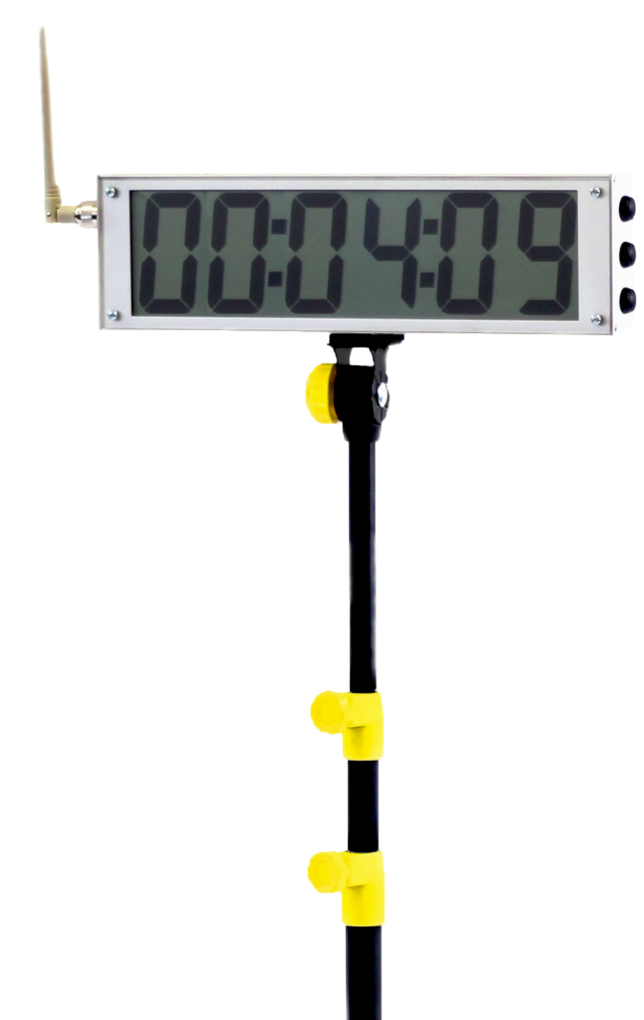 Tendo Sprint System external display by Tendo Sport showing measured speed on the display