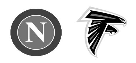 Tendo Sport customers: S. S. C. Napoli, Atlanta Falcons