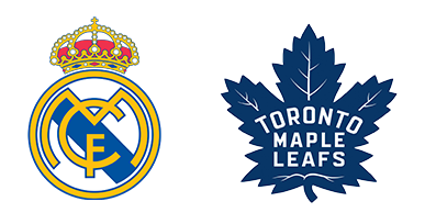 Tendo Sport customers: Real Madrid c.f., Toronto Maple Leafs