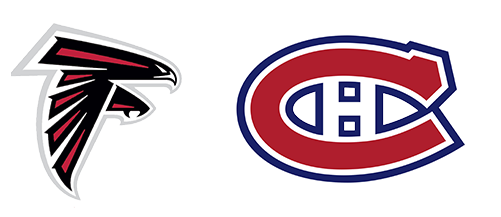 Tendo Sport customers: Atlanta Falcons, Montreal Canadiens