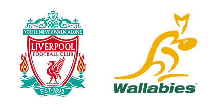 Tendo Sport customers: Liverpool Football Club, Wallabies
