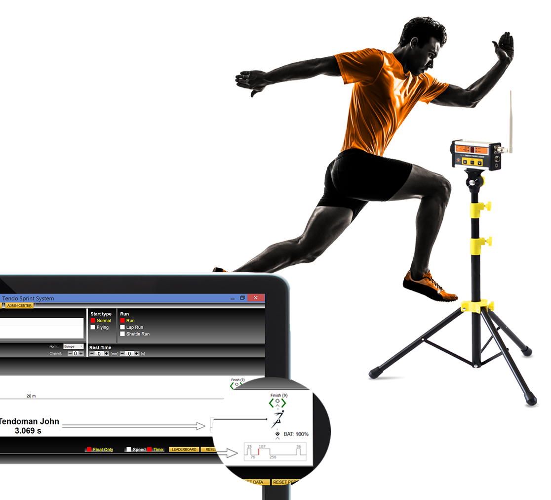 tendo sprint system timing system- error correction processing