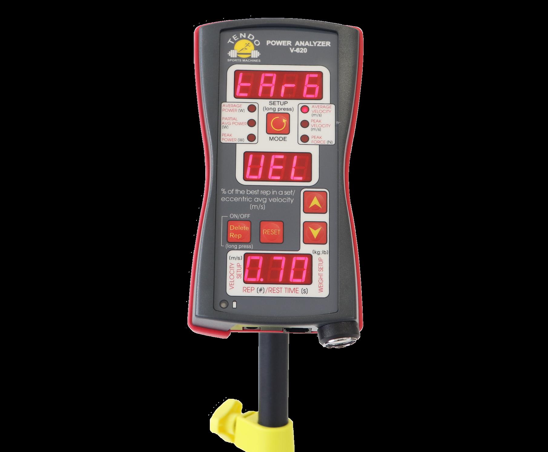 Tendo Unit Velocity Based Training Mode